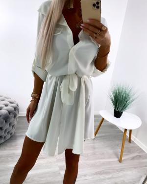 Balts Tie Shirt Dress