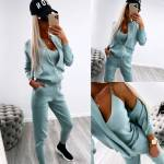 Blue 3 Piece Casual Set