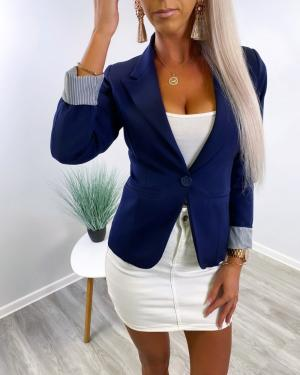 Blazer-jacket (navy blue)