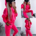 Pink Soft Tracksuit Set